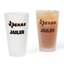 Texas Jailer Drinking Glass