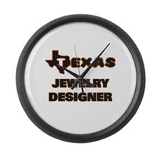 Texas Jewelry Designer Large Wall Clock