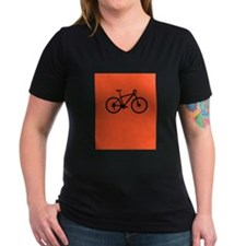Bike on Red T-Shirt