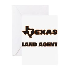 Texas Land Agent Greeting Cards