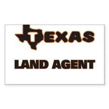 Texas Land Agent Decal