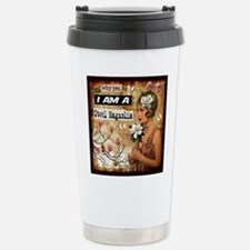 Steel Magnolia Stainless Steel Travel Mug