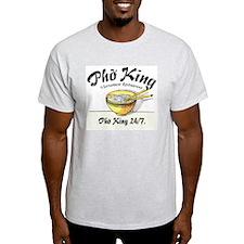 Pho King 24-7 Ash Grey T-Shirt