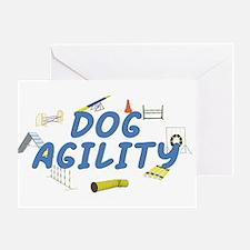Dog Agility Greeting Card