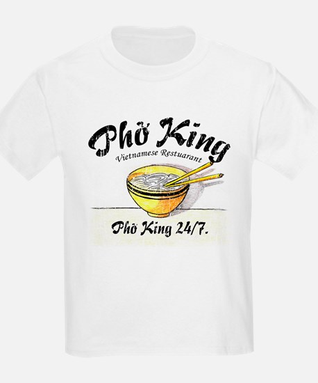 Pho King 24-7 Kids T-Shirt