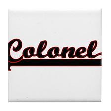 Colonel Classic Job Design Tile Coaster