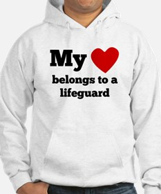 My Heart Belongs To A Lifeguard Hoodie