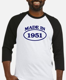 Made in 1951 Baseball Jersey