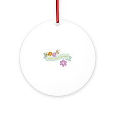 Bridesmaid Ornament (Round)