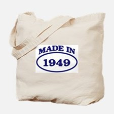 Made in 1949 Tote Bag