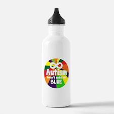 Autism Doesnt Make Me Blue Water Bottle