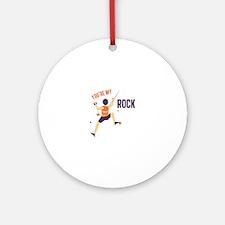 My Rock Ornament (Round)