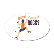 Ready To Rock Wall Decal