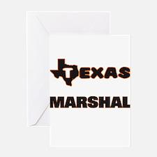 Texas Marshal Greeting Cards