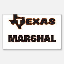 Texas Marshal Decal