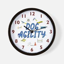 Dog Agility Wall Clock