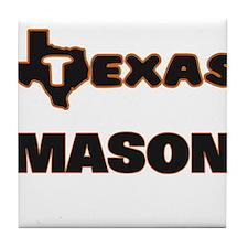 Texas Mason Tile Coaster