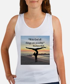 BLESSED GYMNAST Women's Tank Top