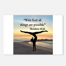 BLESSED GYMNAST Postcards (Package of 8)