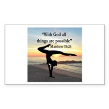 BLESSED GYMNAST Decal