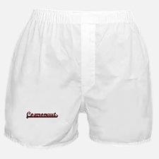 Cosmonaut Classic Job Design Boxer Shorts