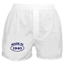Made in 1940 Boxer Shorts
