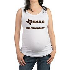Texas Melittologist Maternity Tank Top