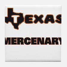 Texas Mercenary Tile Coaster