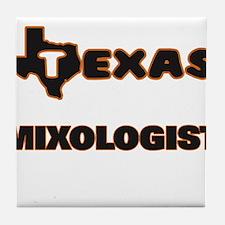 Texas Mixologist Tile Coaster