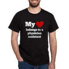 My Heart Belongs To A Physician Assistant T-Shirt