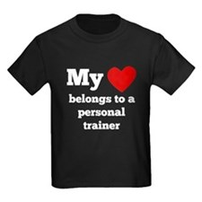 My Heart Belongs To A Personal Trainer T-Shirt