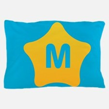 Bright Star Monogram Pillow Case
