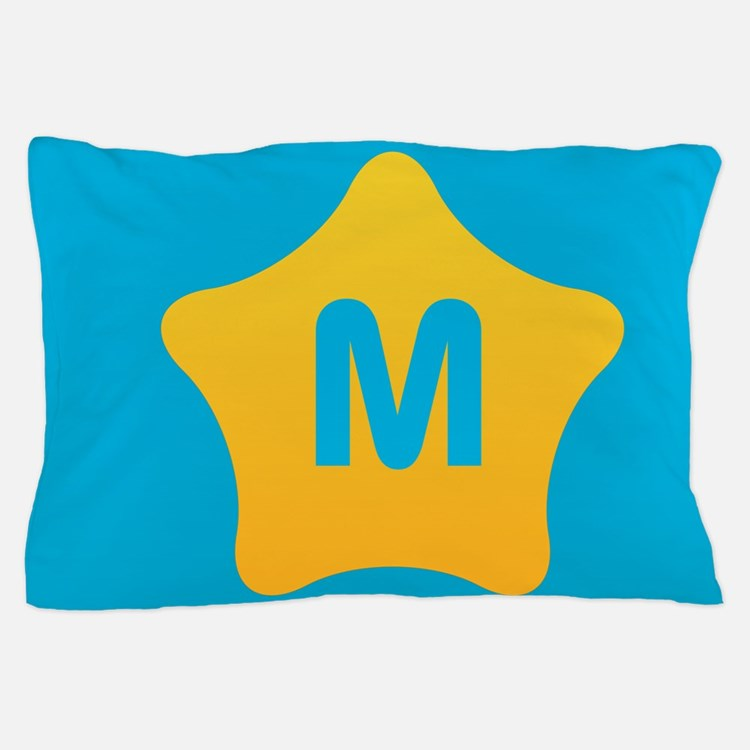Bright Star Monogram Pillow Case