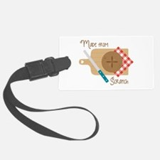 Made From Scratch Luggage Tag