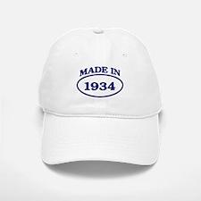 Made in 1934 Baseball Baseball Cap