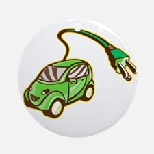 Plug-in Hybrid Electric Vehicle Isolated Ornament