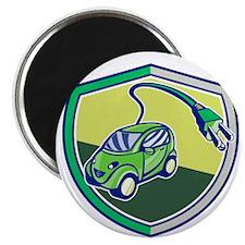 Plug-in Hybrid Electric Vehicle Retro Shield Magne