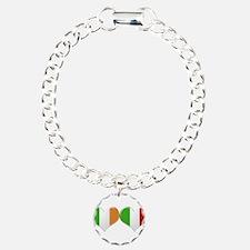 Irish and Italian Heart Bracelet
