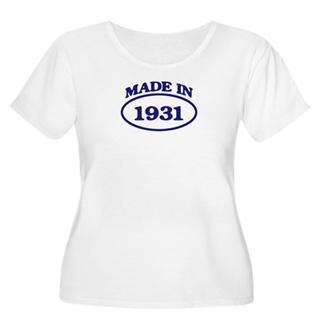 Made in 1931 Women's Plus Size Scoop Neck T-Shirt