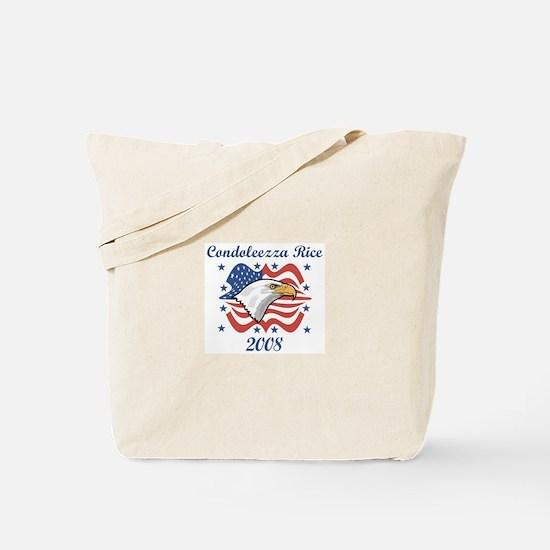 Condoleezza Rice 08 (eagle) Tote Bag