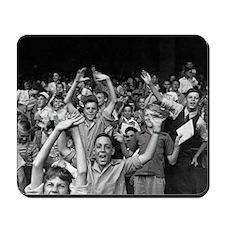 Kids at a Ball Game, 1942 Mousepad