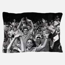 Kids at a Ball Game, 1942 Pillow Case