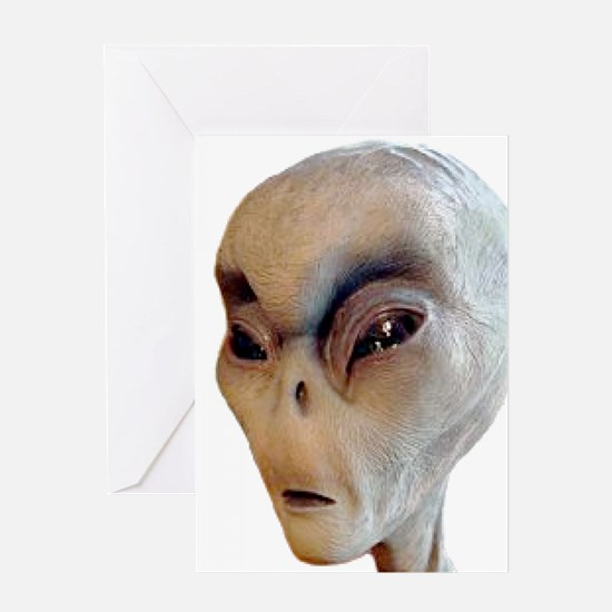 Alien Greeting Cards