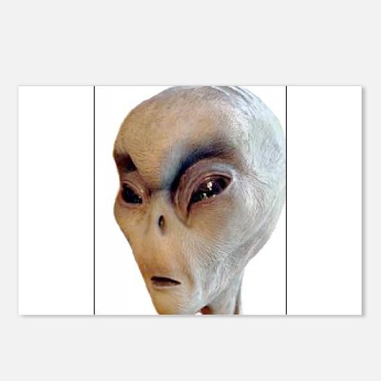 Alien Postcards (Package of 8)
