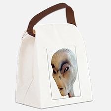 Alien Canvas Lunch Bag