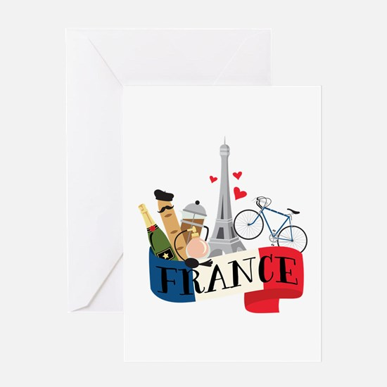 France Greeting Cards
