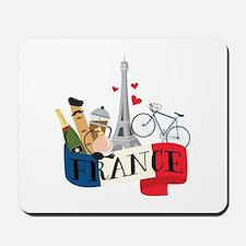 France Mousepad