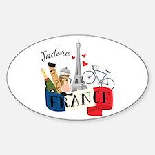 Jadore France Decal
