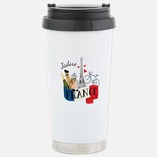 Jadore France Travel Mug