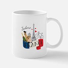 Jadore France Mugs